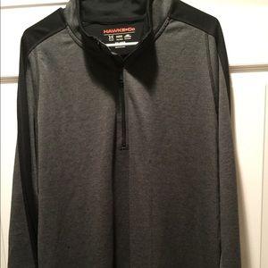 Men's half zip pullover